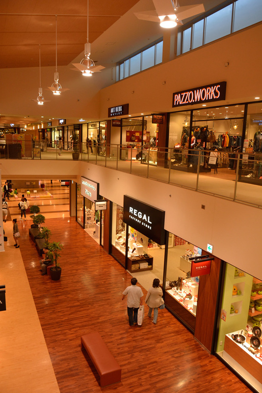 Interior of Mitsui Outlet Park