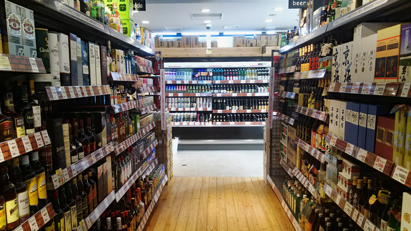 Sapporo Drug Store in Hirafu Village carries a wide range of wine selection.