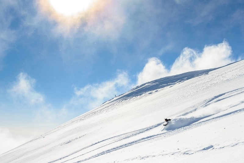 On a clear, powdery morning, Hirafu Peak's east face will be some of the best skiing of your life.