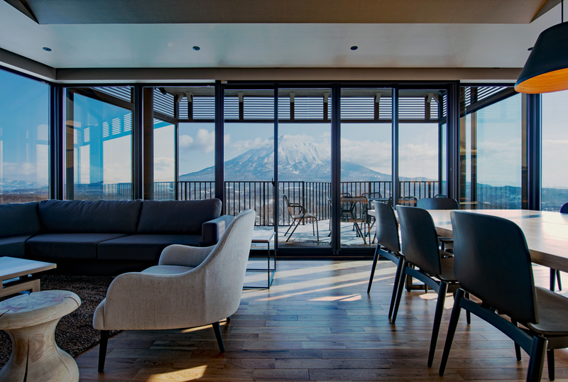 Aspect Niseko - Living Room