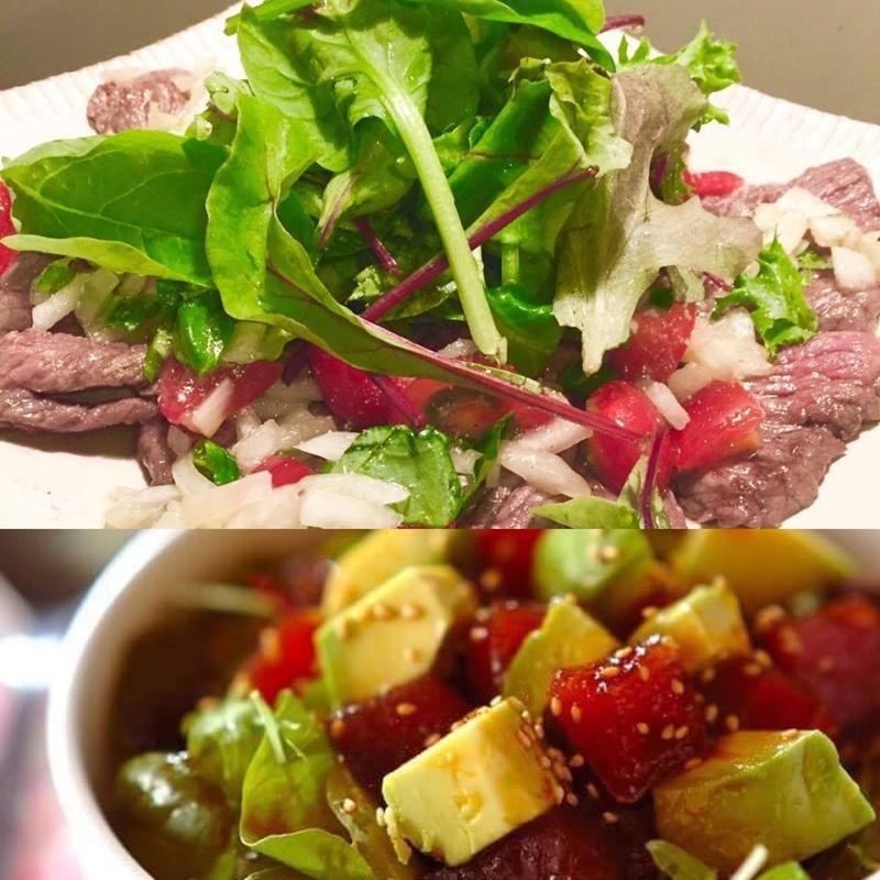 ニセコで採れた野菜を使ったJAM Cafeの料理