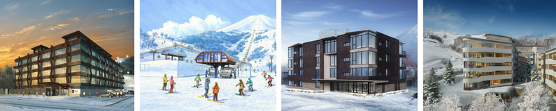 Latest Niseko Development - properties and lift upgrades