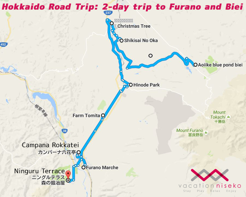 Hokkaido Road Trip: 2-day trip to Furano and | Vacation