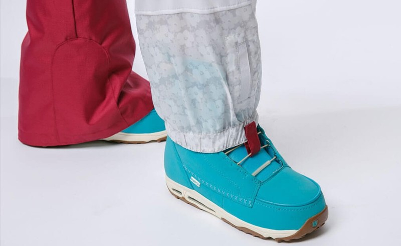 built-in gaiters