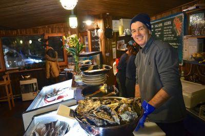 Ezo seafoods in Niseko