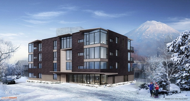 Exterior of Aspect Niseko