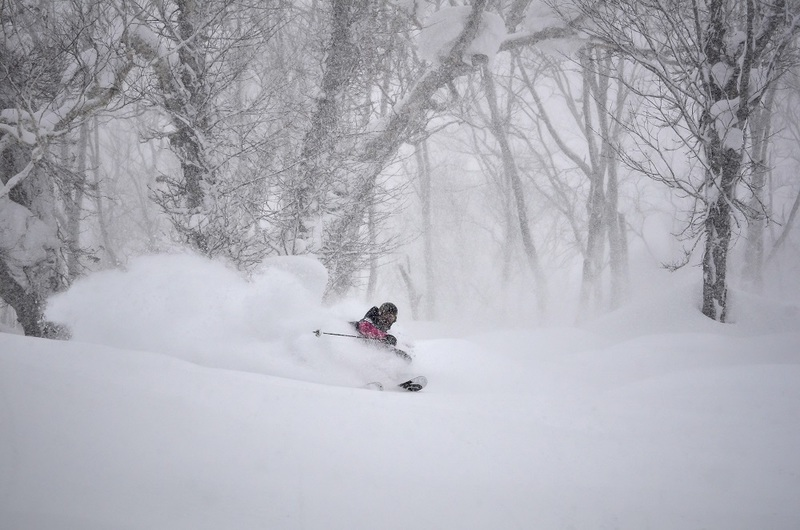 The powder snow in Niseko is unbeatable.