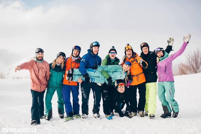 the ski week in niseko