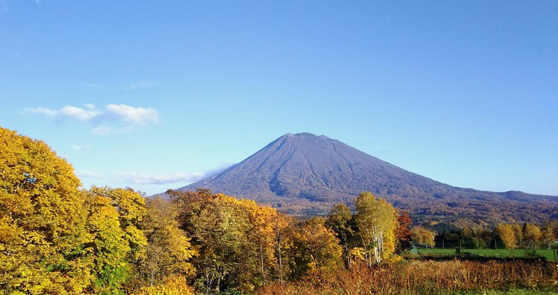 View of Mount Yotei from Annupuri.