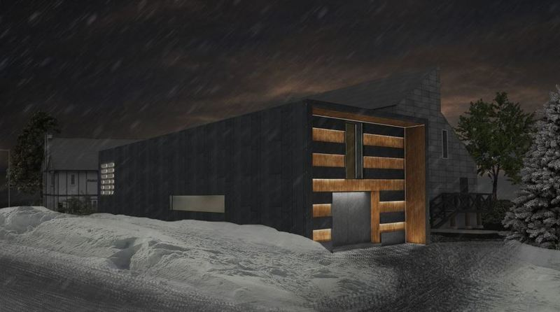 Exterior of Powder Room, Niseko