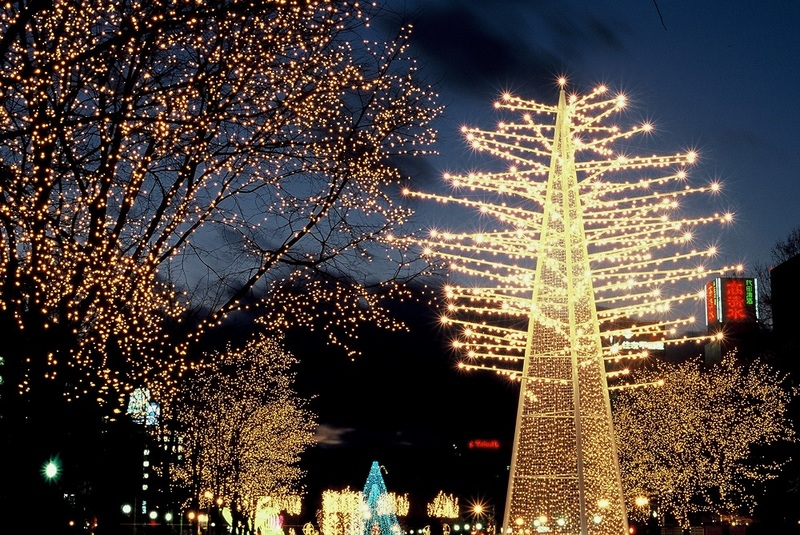 White Illumination in Sapporo