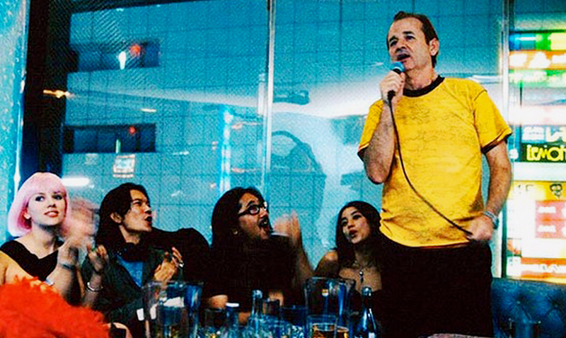 Lost in translation karaoke scene