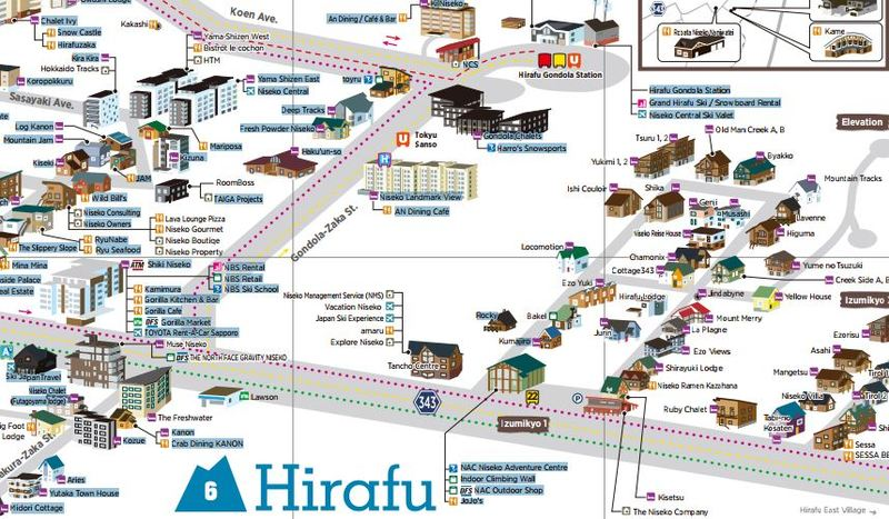 Niseko Resort Map