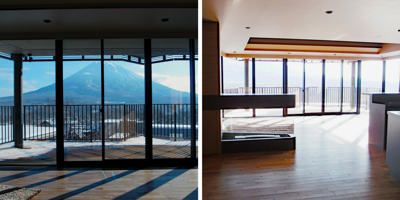 Aspect Niseko - Living Room