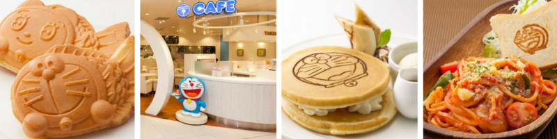 New Chitose Airport Doraemon Cafe