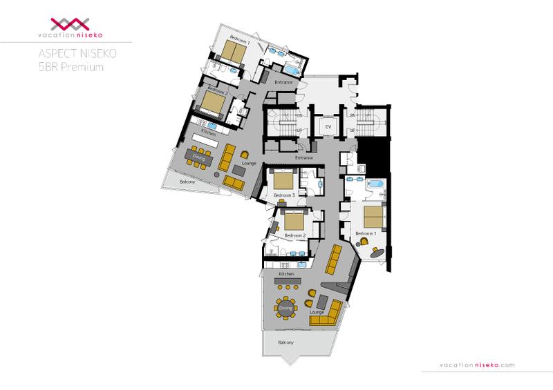Aspect Niseko Floor Plan
