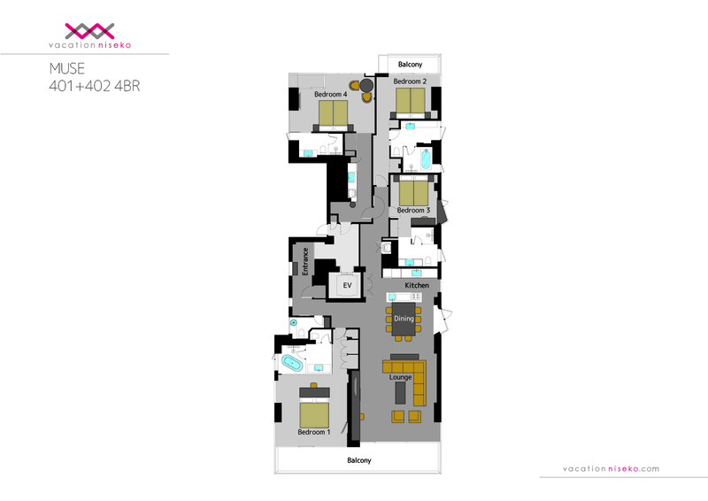 Muse Niseko Floor Plan