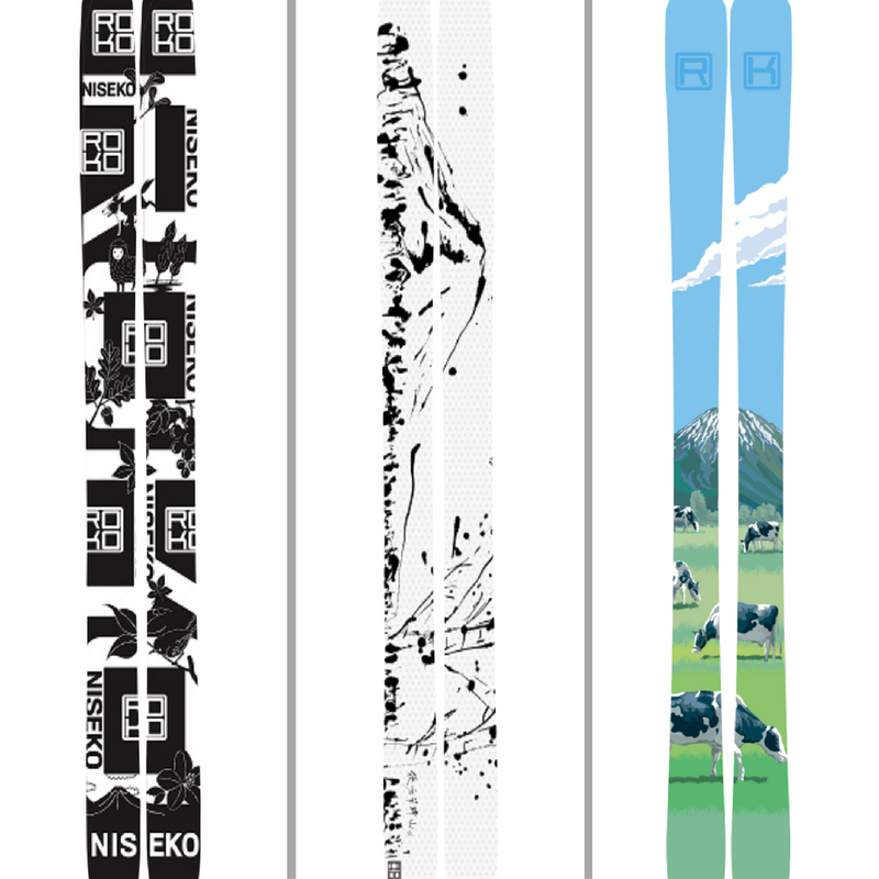 ROKO skis design - Niseko oriented