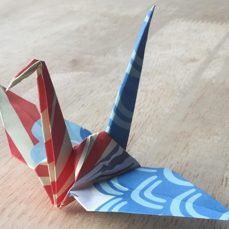 Origami workshop at niseko landmark view
