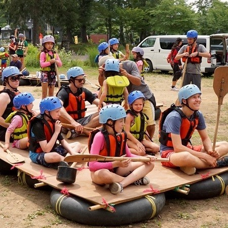 Family summer camp 2017 with edventure