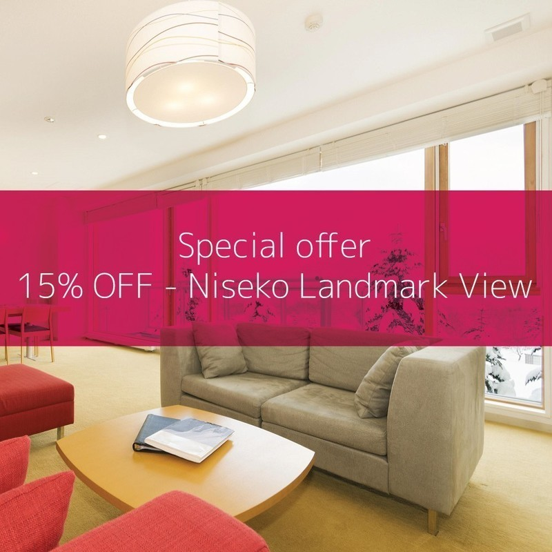 Niseko landmark view special offer 15 off