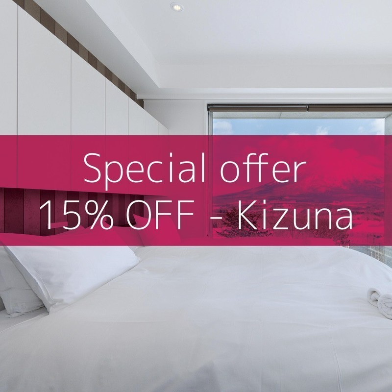 Niseko accommodation special offer 15 off kizuna