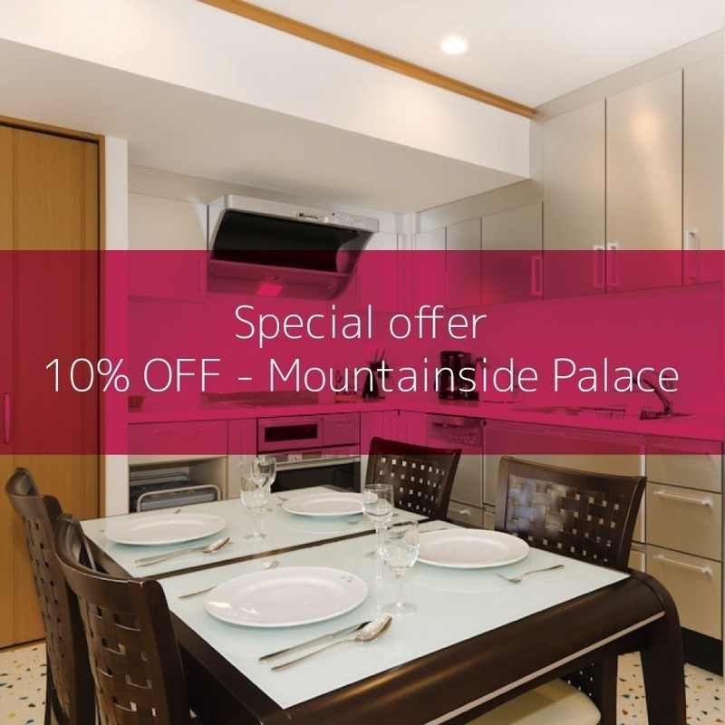 Mountainside palace special offer 10 off