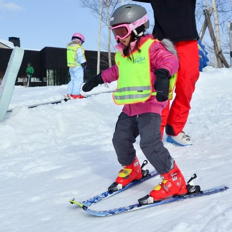 Kids ski free in spring